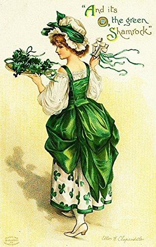 6 St Patrick's Indefinitely Max 62% OFF Day Card Set Series B Image Greeting - Vintage Ca