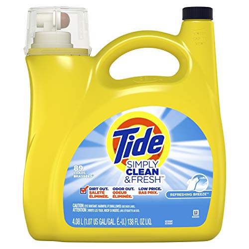 Tide Simply Clean & Fresh Daybreak Fresh Liquid Laundry Detergent - 128 fl oz