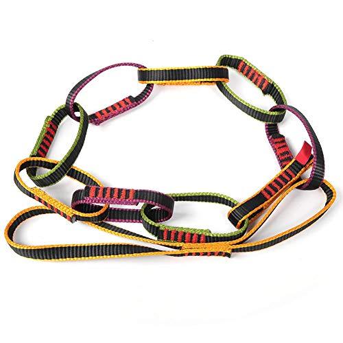 Daisy Chain Corda, Alpinismo Cintura in Nylon per Amaca Yoga Attrezzatura di Sicurezza per Arrampicata su Roccia