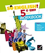So English! - Anglais 5e Éd. 2017 - Workbook d'Evelyne Ledru-Germain