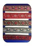 Cintas de 5 cm estilo naciones de jacquard, cincha bordada, cinta de correa de guitarra, accesorios para bolsos, accesorios de zapatos, cinta de correa., 3, Size