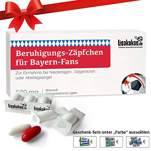 Alles für Bayern-Fans by Ligakakao.de Geschenk männer ist jetzt BERUHIGUNGS-ZÄPFCHEN® für FC