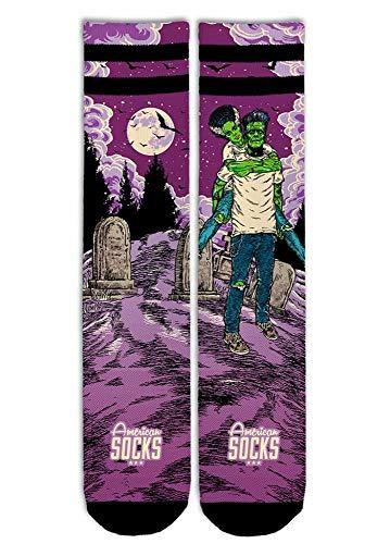 American Socks frankenstein calcetines altos medios