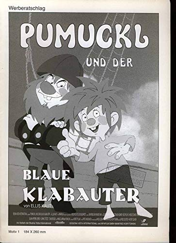 Pumuckl und der blaue Klabauter - Werberatschlag