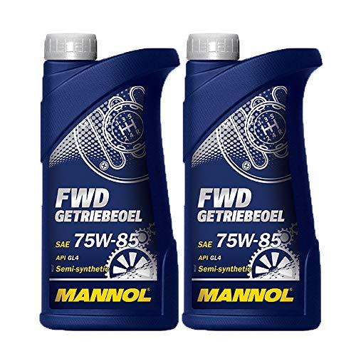MANNOL 2 x 1 Liter FWD Getriebeöl 75W-85 GL-4