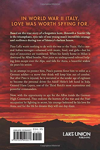 REVIEW & OPINIONS Mark Sullivan's book Beneath a scarlet Sky