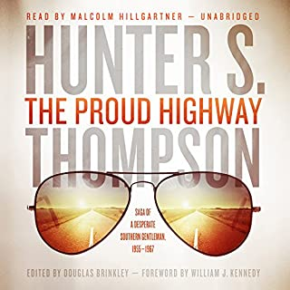 The Proud Highway audiobook cover art