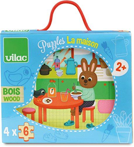 Vilac - Puzzles La casa (2643)