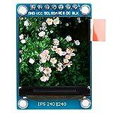 Módulo de Pantalla LCD a Color IPS de 1,3 Pulgadas para Arduino, módulo de Interfaz SPI de Pantalla LCD a Color 240x240RGB 3,3 V ST7735, para Arduino