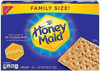 Honey Maid Honey Graham Crackers - Family Size 25.6 oz - 2 pack
