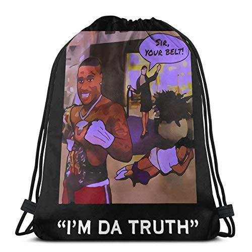 BFGTH bolsa con cordón Da-Baby I'M Da-Truth Drawstring Bag Shoulder Bags Sport Storage Bag For Man Women
