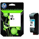 HP 15 schwarz Original Tintenpatrone für gelegentliches Drucken