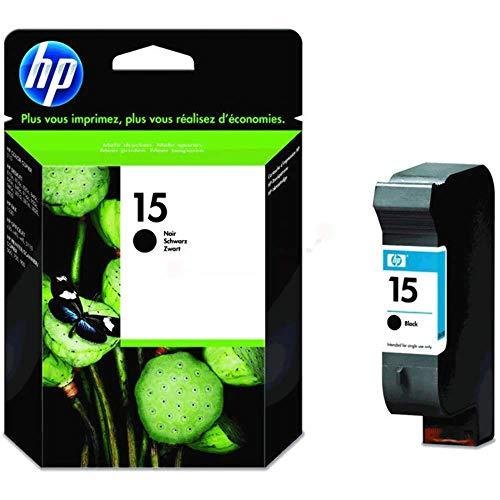 HP 15 schwarz Original Tintenpatrone fur gelegentliches Drucken