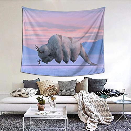 Avatar The Last Legend Airbender Of Korra Aang Tapestry Soft Printed Wall Hanging, Fabric Wall Tapestry With Art Nature Decorations For Living Room Bedroom Dorm Decor In 60x51 Inches