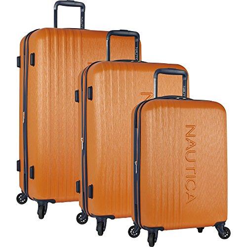 Nautica 3-teiliges Koffer-Set mit 4 Rädern, Klassisches Orange (Orange) - 2935P02