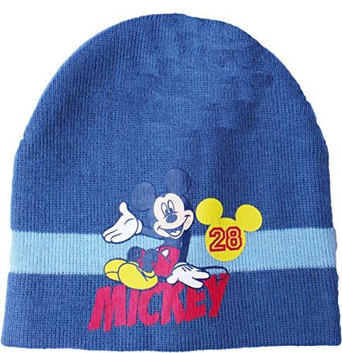 Disney Micky Maus Wintermütze - Hi Micky - Dunkelblau/Blau/Mehrfarbig