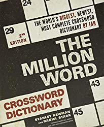 top rated Million Word Crossword Dictionary, 2nd Edition 2021