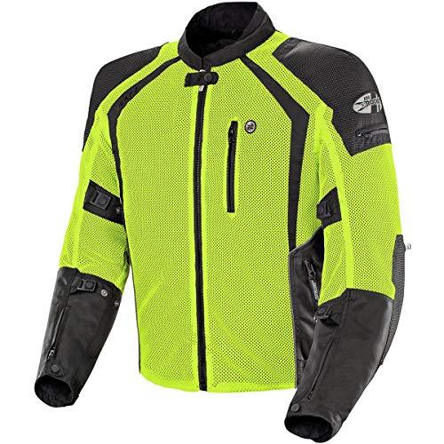 Joe Rocket 1516-4604 Phoenix Ion Men's Mesh Motorcycle Jacket (Hi-Viz Neon, Large)