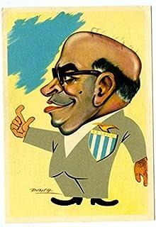 SS LAZIO Postcard Punch Italy Soccer Fan Caricature