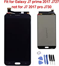 JayTong LCD Display & Replacement Touch Screen Digitizer Assembly with Free Tools for Galaxy J7 2017 SM-J727 J727R4 J727V J727P SM-J727A & J7 Sky Pro &J7 Prime 2017 SM-J727T1 J7 Perx Black