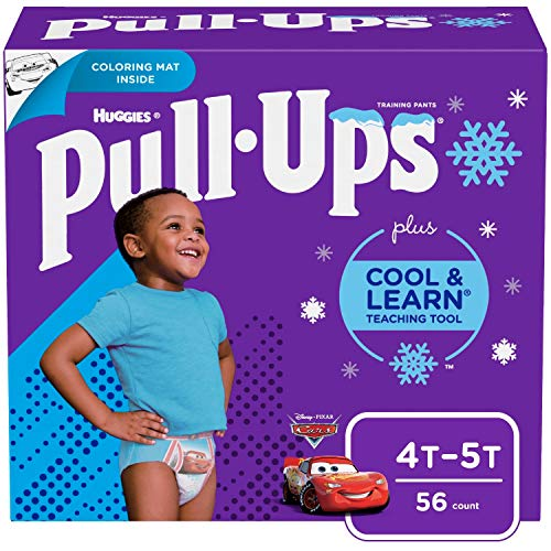Pull-Ups Cool & Learn Boys' Training Pants, 4T-5T, 56...
