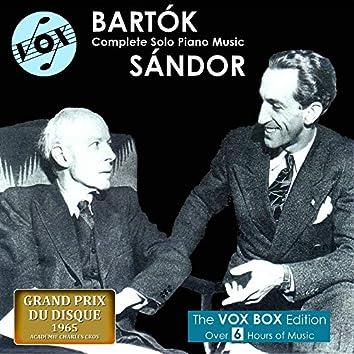 Bartók: Complete Solo Piano Music