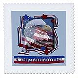 3dRose QS 16337_ 10Congratulations Patriotische Adler