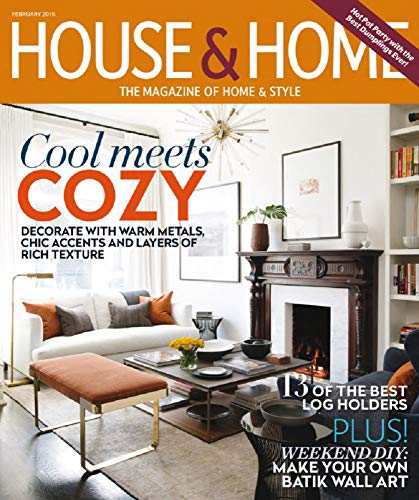 House and Home: Decorate with warm metals, Chic accents and layers of rich texture (English Edition)