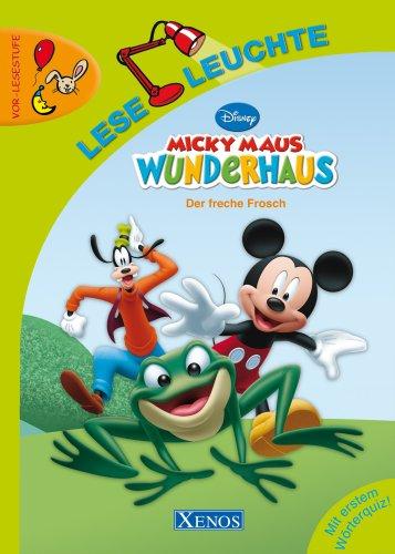 Leseleuchte - Micky Maus Wunderhaus: Der freche Frosch