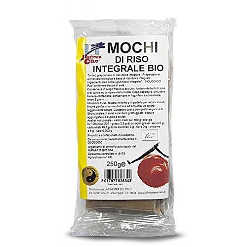 LA FINESTRA SUL CIELO Mochi di Riso Integrale Bio - 250 g