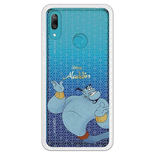 Funda Oficial Disney Genio de la Lámpara Transparente para Huawei Y7 2019 - Aladdin