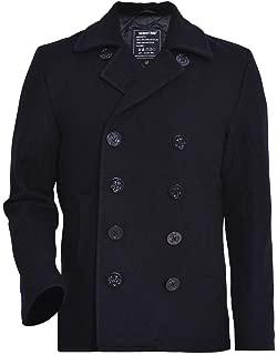 Men's Woolen Coat US Navy Type 80% Wool USN Pea Coat