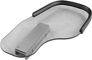 Flip Away Wheelchair Half Tray with Rubber Rim