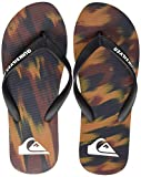 Quiksilver Molokai Marled, Zapatos de Playa y Piscina para Hombre, Multicolor (Black/Blue/Red Xkbr), 44 EU