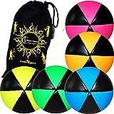 Astrex - Lote de 5 bolas de mallaje UV para mujer y bolsa de transporte...