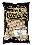 Fishing Tackle Max FTM Amino Flash Virus Boilie 20mm Knoblauch 7200420 Boilies Karpfenangeln Karpfenköder