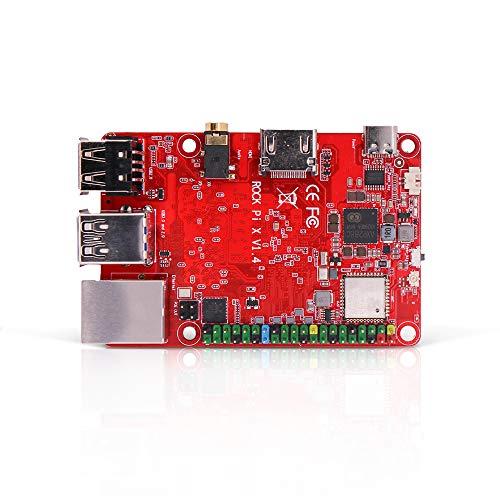 ROCK PI X MODEL B Win10 In-tel Atom x5-Z8300 -(4G RAM & 32G EMMC) Computadora de una sola placa