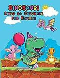 Dinosauri Libro da Colorare per Bambini: Libro da colorare dinosauro carino per bambini e ragazzi | ...