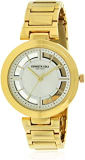 Kenneth Cole Women's Silver Dial Stainless Steel Band Watch - KC50048001