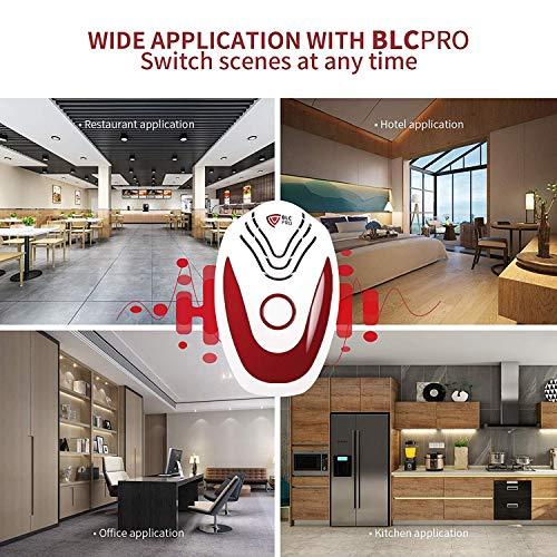 BLCPRO Repellente ad Ultrasuoni, Antizanzare Ultrasuoni Repellente Topi Zanzare - Aggiornamento a Triplo Effetto Insetti Formiche Ragni Pulci Scarafaggi Ratti Parassiti, 2020 Versione PRO