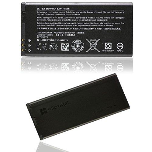 Glitzy Gizmos originale Microsoft Nokia Lumia batteria bl-t5a 2100mAh 7.8Wh 3.7V per Lumia 550(nessuna vendita al dettaglio)