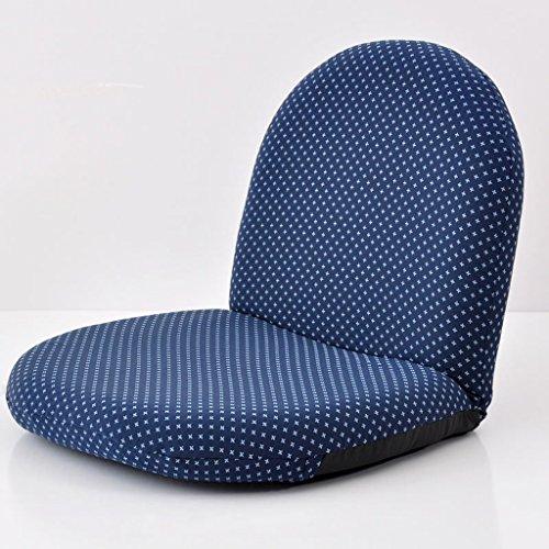 Oreiller Fu Man Li Trading Company Canapé Parfum canapé Simple Fauteuil Chaise Simple Chaise Pliante A+ (Couleur : Bleu)