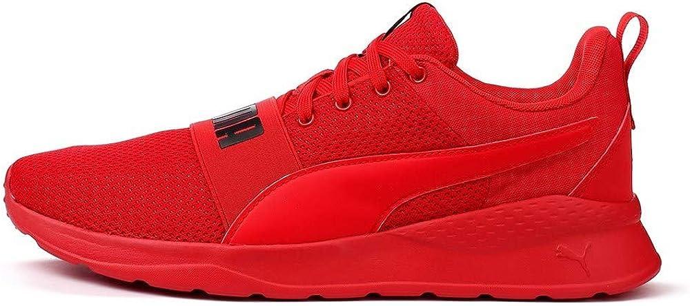 Puma, anzarun lite bold t, scarpe da ginnastica per uomo,sneakers,in ecopelle e tela 372362