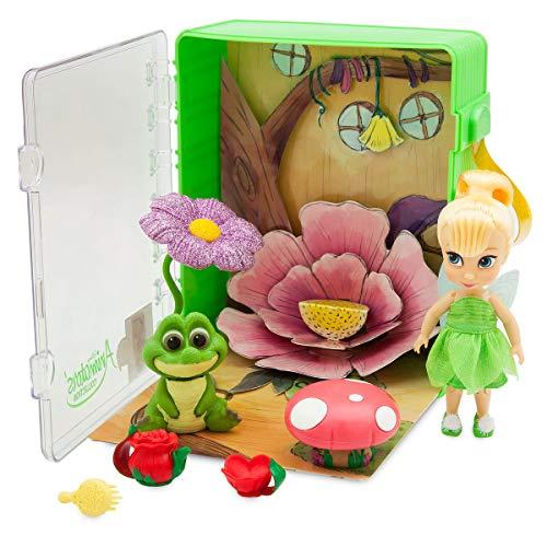 Disney Animators' Collection Tinker Bell Mini Doll Play Set - 5 Inch