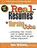 Real-Resumes for Nursing Jobs