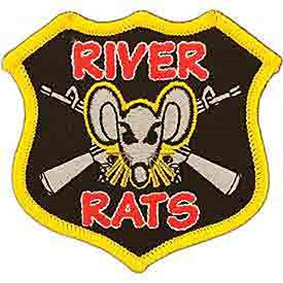 EagleEmblems PM0016 Patch-Vietnam,River Rats (3'')
