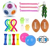 MBWLKJ Fidget Toys Pack, Conjuntos de Juguetes de Fidget Sensory, Paquete de Juguetes de Fidget Barato alivian la ansiedad de estrés Fidgets Toy para Adultos niños-GRAMO