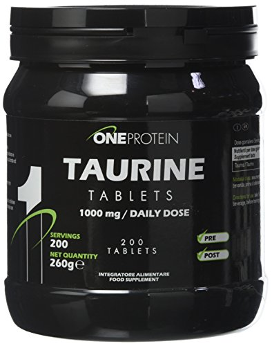 Taurine Tablets integratore alimentare in compresse che apporta 1000 mg di taurina 200 compresse