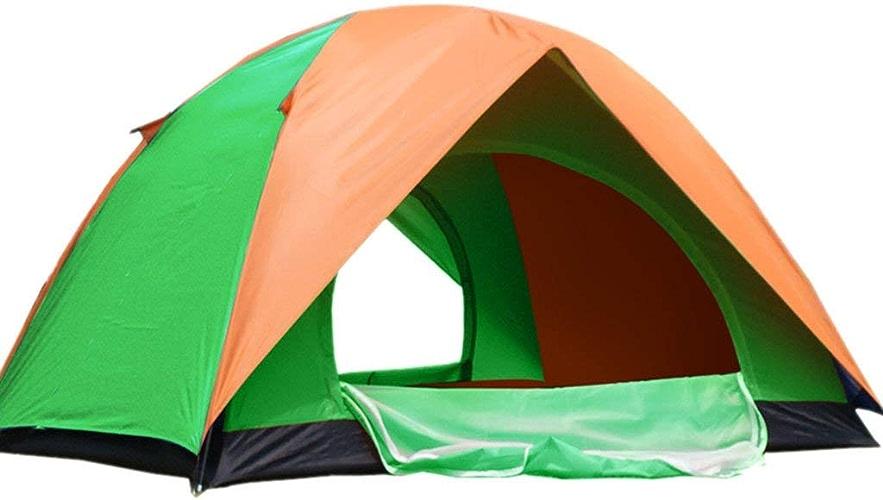 XHCP Tente, Manuel sur Le Terrain Construire Individuel 2 Personnes 3-4 Personnes en Plein air Famille Auto-entraîneHommest Visiter Camping Tente de Camping