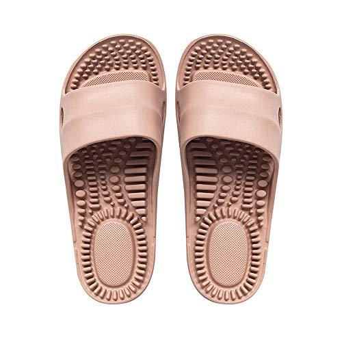ECSWP MSGWNHLPSB Desgaste de la Salud Zapatillas Masaje Ocio Antideslizantes Zapatos Casuales Zapatos Zapatillas de Playa de los Deslizadores de los Hombres de los Deslizadores (Size : 39-40)